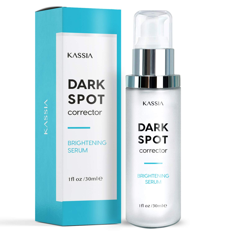 KASSIA Dark Spot Corrector for Face and Body, Age Spot Dark Spot Serum Cream Helps fade hyperpigmentation, freckles, melasma, age spots, sun spot and acne spot