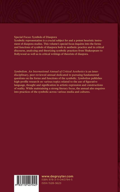 Buy Symbolism 14 Special Focus Symbols Of Diaspora Book Online