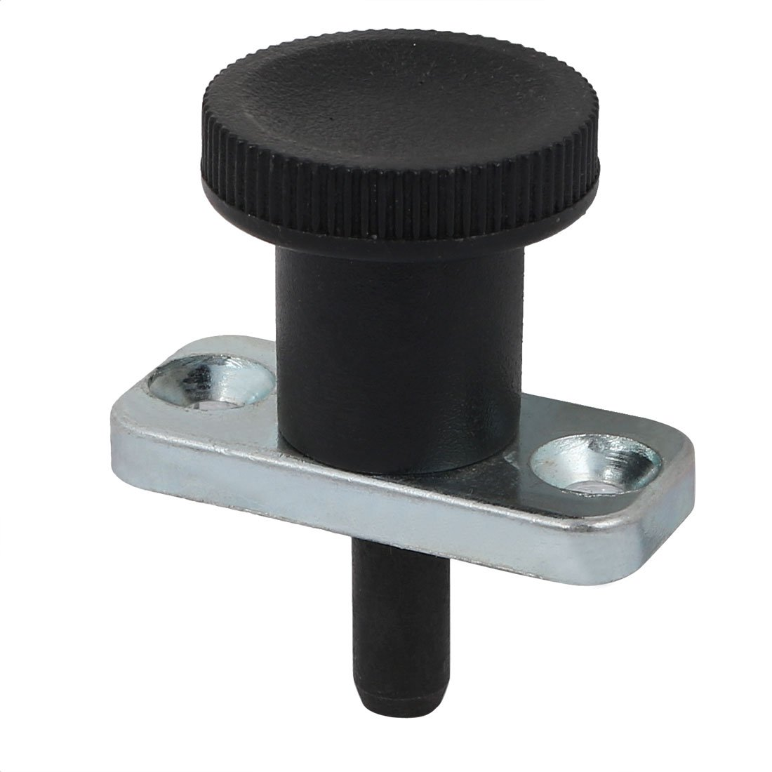 uxcell 8mm Pin Dia 18mm Pin Length Non Lock-Out Type Zinc Alloy Plate Mount Indexing Plunger