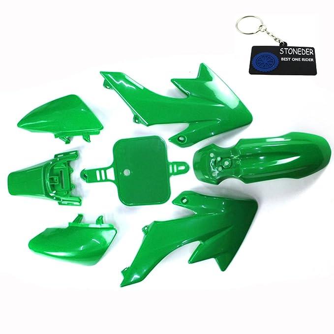1 opinioni per Stoneder verde carenatura copertura del corpo in plastica, per Honda