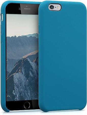 Kwmobile Hülle Kompatibel Mit Apple Iphone 6 6s Handyhülle Gummiert Handy Case In Petrol Elektronik