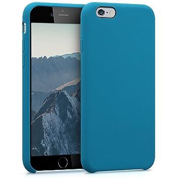 kwmobile Funda compatible con Apple iPhone 6 / 6S - Carcasa de [TPU] para móvil - Cover [trasero] en [petróleo]