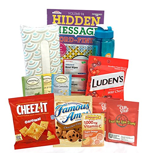 Get Well Care Package - Send Care and Concern - Get Well Soon, Flu Cold Care Package -Several To Choose From (Get Well Cheer- For A Cold or Flu)