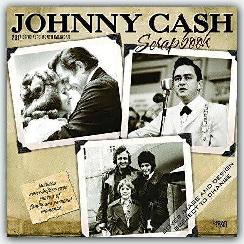 Descargar Libro Johnny Cash 2017 - 16-monatskalender: Original Browntrout-kalender Inc Browntrout Publishers