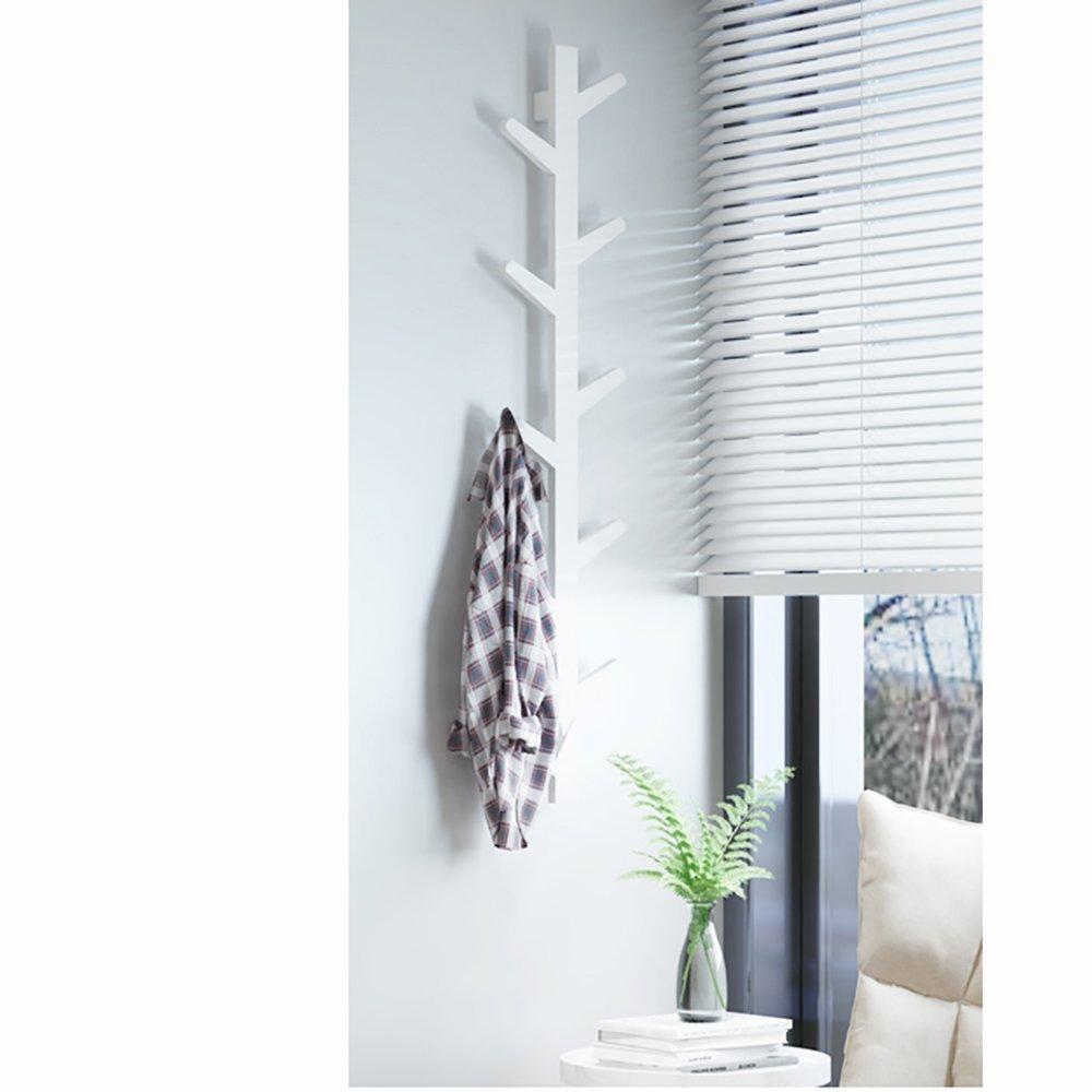 QFFL Rack de Ramas de árbol Creativo/montado en la Pared/Simple/Rack de vestíbulo de Pared/Dormitorio Woody/Perchas suspensión de la Pared (Color : B-78cm)