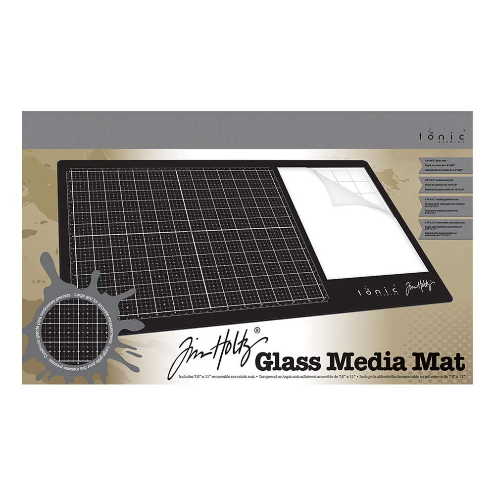 Tim Holtz Glass Media Mat 1914E by Tim Holtz