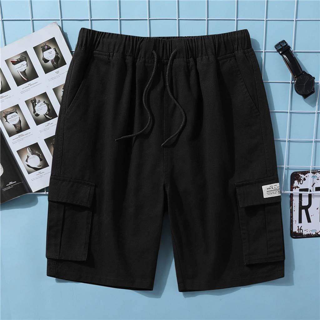 Bermuda Cargo Short Multi Tasca Pantaloncini Sportivi da Uomo Casual Estate Patchwork Pantaloni Corti da Lavoro Uomo Taglie Forti Babyshan Pantaloncini Cargo Uomo Pantaloni Corti Uomo