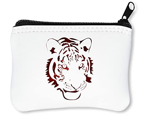 Cosmic Red Tiger Graphic Billetera con Cremallera Monedero ...
