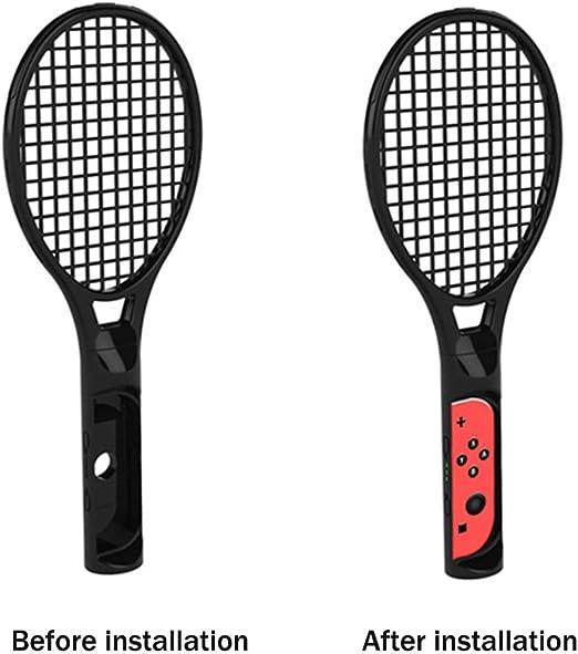 Raqueta de tenis para Nintendo Switch, FYOUNG Somatosensory Joy ...