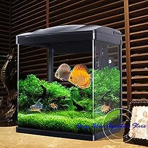 Perfect new fish tank aquarium kit with l e d for Amazon fish tanks