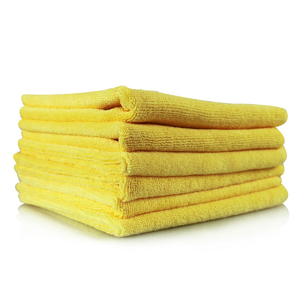 Chemical Guys MIC_103_12 Ultra Fine Microfiber Towels, Yellow (15 in. x 15 in.) (Pack of 12) by Chemical Guys