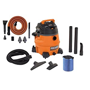 RIDGID 14-Gal. 6.0 Peak HP Wet/Dry Vac with Auto Detailing Kit