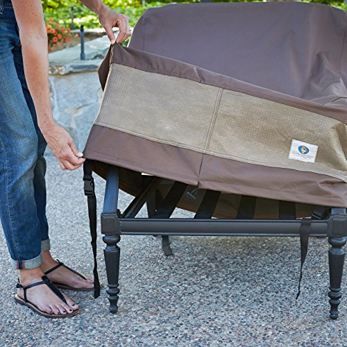 Duck Covers Ultimate Patio Loveseat Cover 54 Inch New Ebay