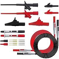 Vosarea Kit de Cables de Prueba electrónicos Cables