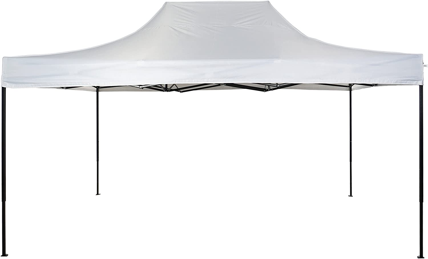 American Phoenix Canopy Tent 10×15 Outdoor Pop Up Easy Portable Instant Wedding Party Tent Event Commercial Fair Car Shelter Canopy White, 10×15