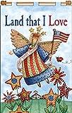 Design Works Crafts Land That I Love, 16'' x 24'' Sequin Banner I