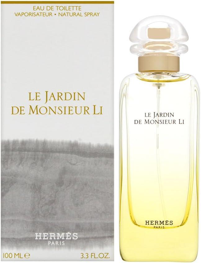 Hermes Le Jardin De Monsieur Li Eau de Toilette Vaporizador - 100 ml: Amazon.es: Belleza
