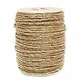 Premium 1/4-inch Manila Rope - 100ft