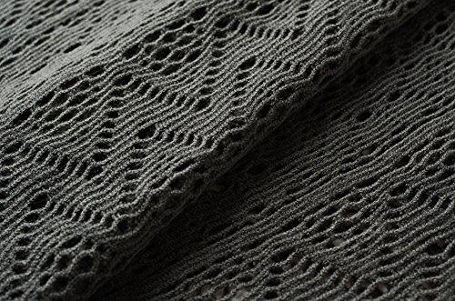 Ferand - Poncho - para mujer gris