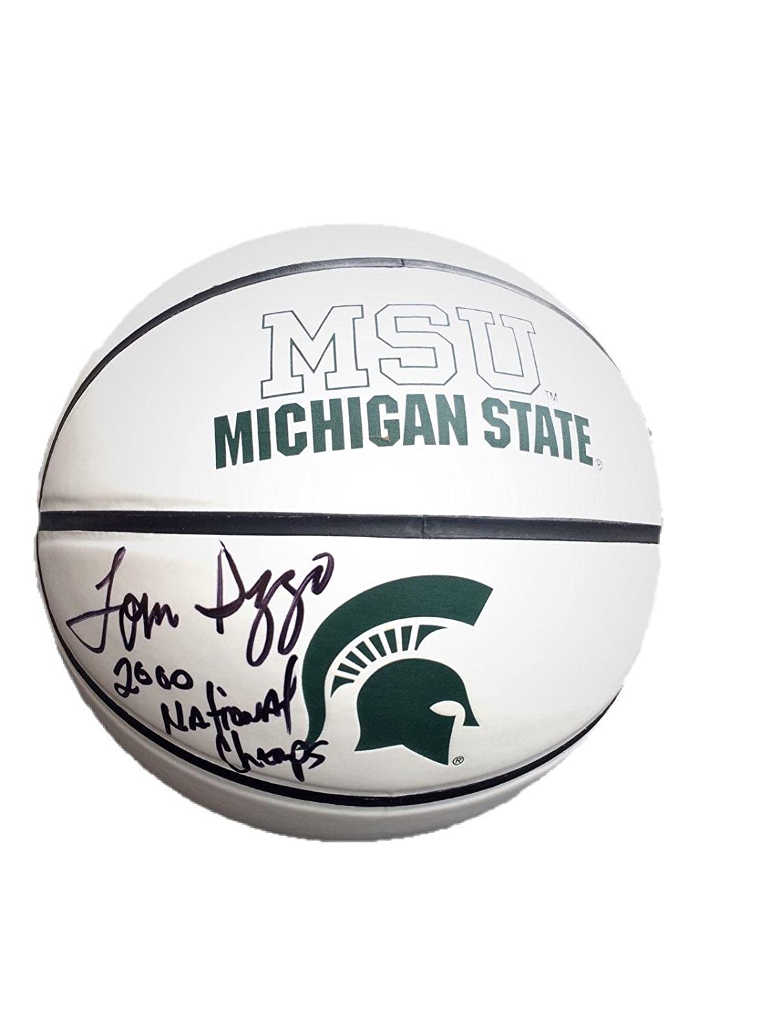 84d3e09d8dd2 Tom Izzo Michigan State Spartans (2000 Champs) Signed Logo Basketball - JSA  Certified - Autographed College Basketballs at Amazon s Sports Collectibles  ...