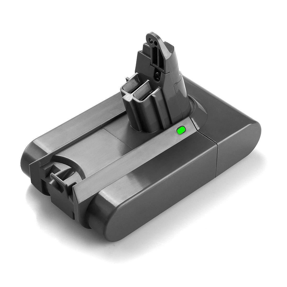 Powerextra 21.6V 2200mAh Replacement Battery for Dyson V6 Dyson DC61 DC62 DC58 DC59 595 650 770 880 Animal DC72 Series Handheld 21.6v Li-ion Battery (Dyson v6 Battery)