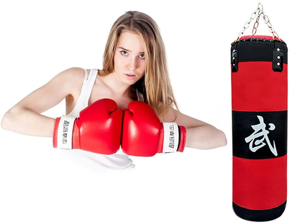 Empty Chain Hollow Hanging Taekwondo Boxing Training Fitness Pouch Sand Bag VGEBY 3+1 Boxing Pouching Bag