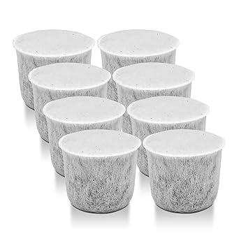 2x Filtro de agua WMF carbón activado para máquinas de café de la vaina: Amazon.es: Hogar