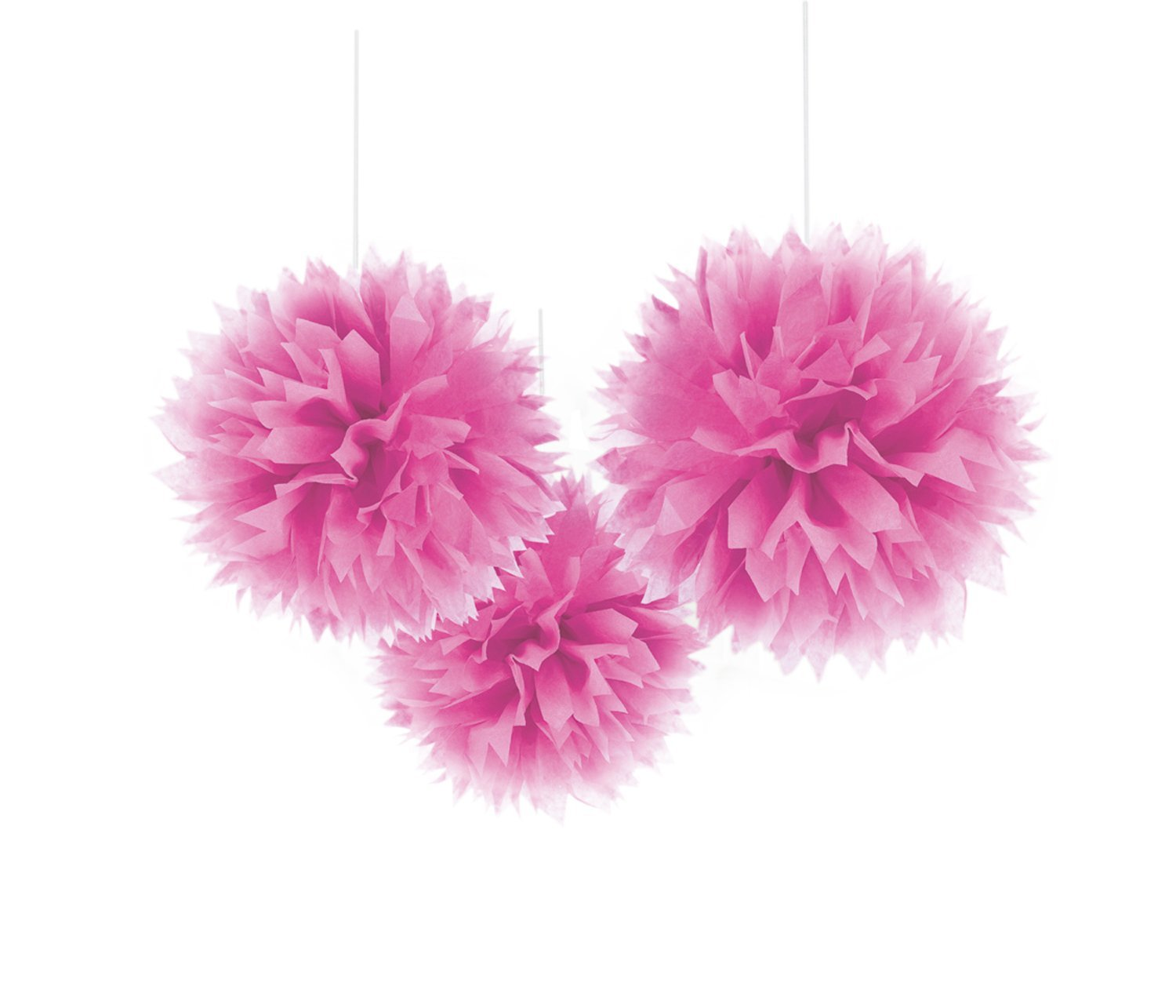 pink ceiling pom poms classroom decorations pink