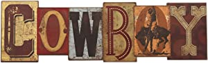 Open Road Brands Cowboy Wood Wall Decor