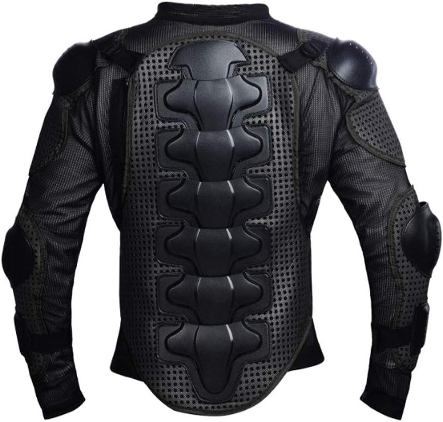 LanXi Motorrad Schutz Jacke Motocross Protektorenjacke mit R/ücken Protektor Scooter f/ür Damen und Herren L, Rot