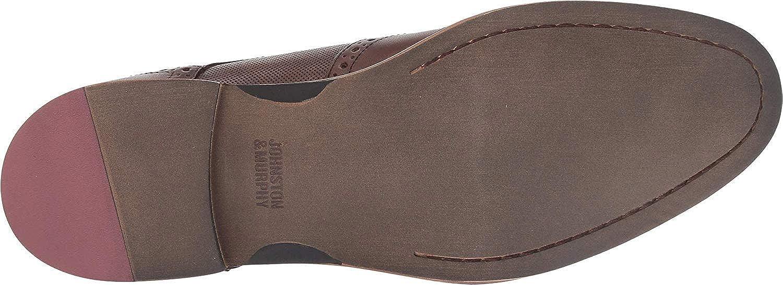Johnston /& Murphy Men/'s Conard Oak Leather Embossed Wingtip Bluchers 20-3894