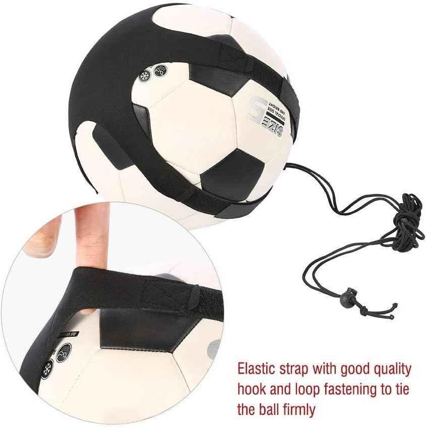 Vbestlife Entra/îneur de Coup de Pied//Lancer de Football Mains Libres Entra/îneur de Football Solo Entra/înement de Ballon de Football Filet de Jonglerie