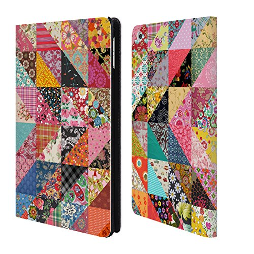 Official Rachel Caldwell Quilt Patterns Leather Book Wallet Case Cover For Apple iPad mini 4