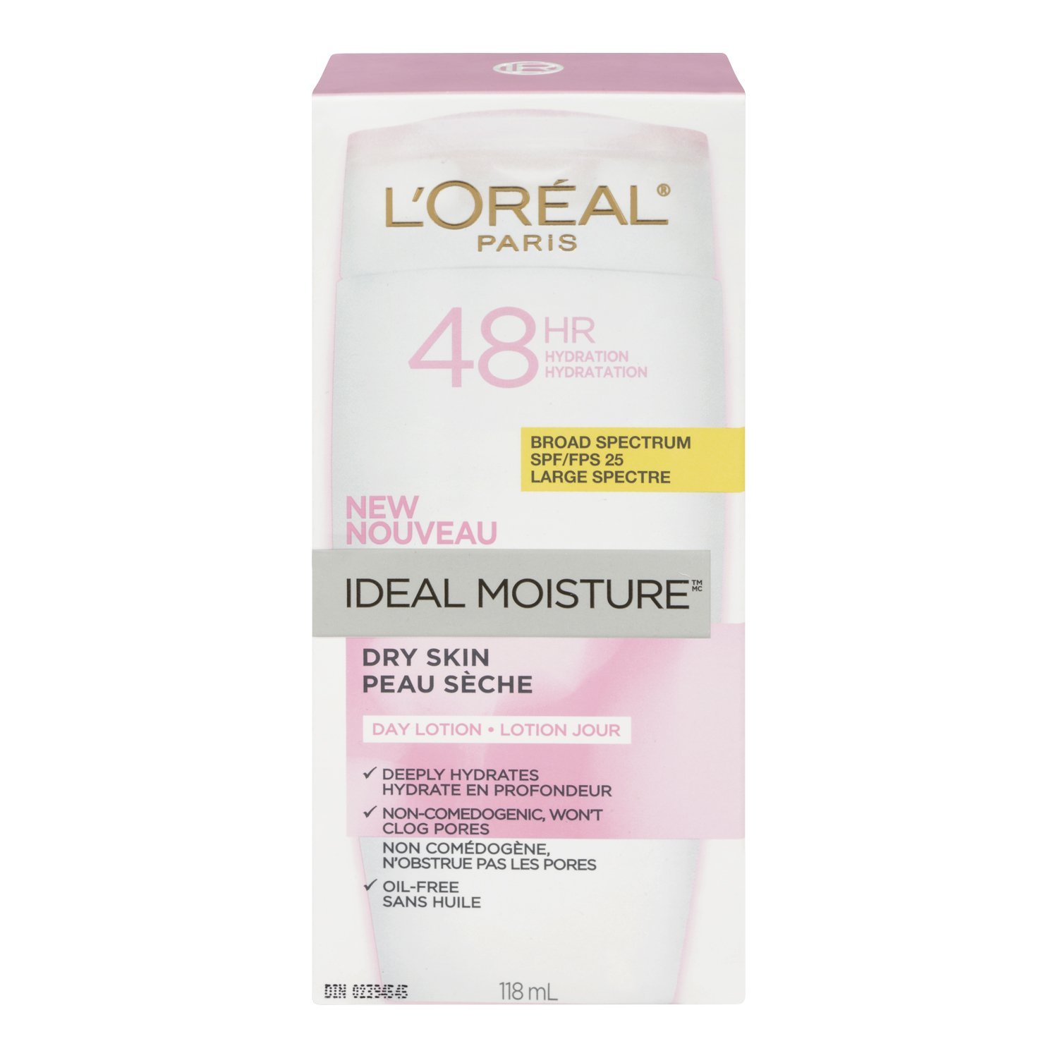 L'Oreal Paris Ideal Moisture SPF25 Day Lotion, 118-Milliliter (10064574) L' Oreal Paris K13224