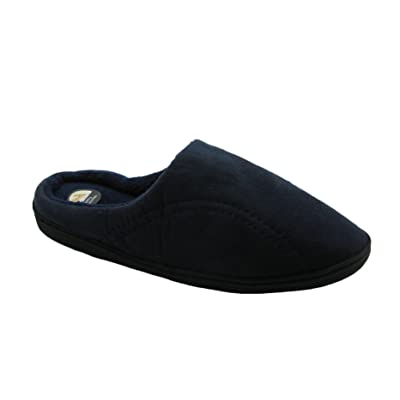 Men's Micro-Suede Memory Foam Clog Slide Slip-On Slippers | Slippers