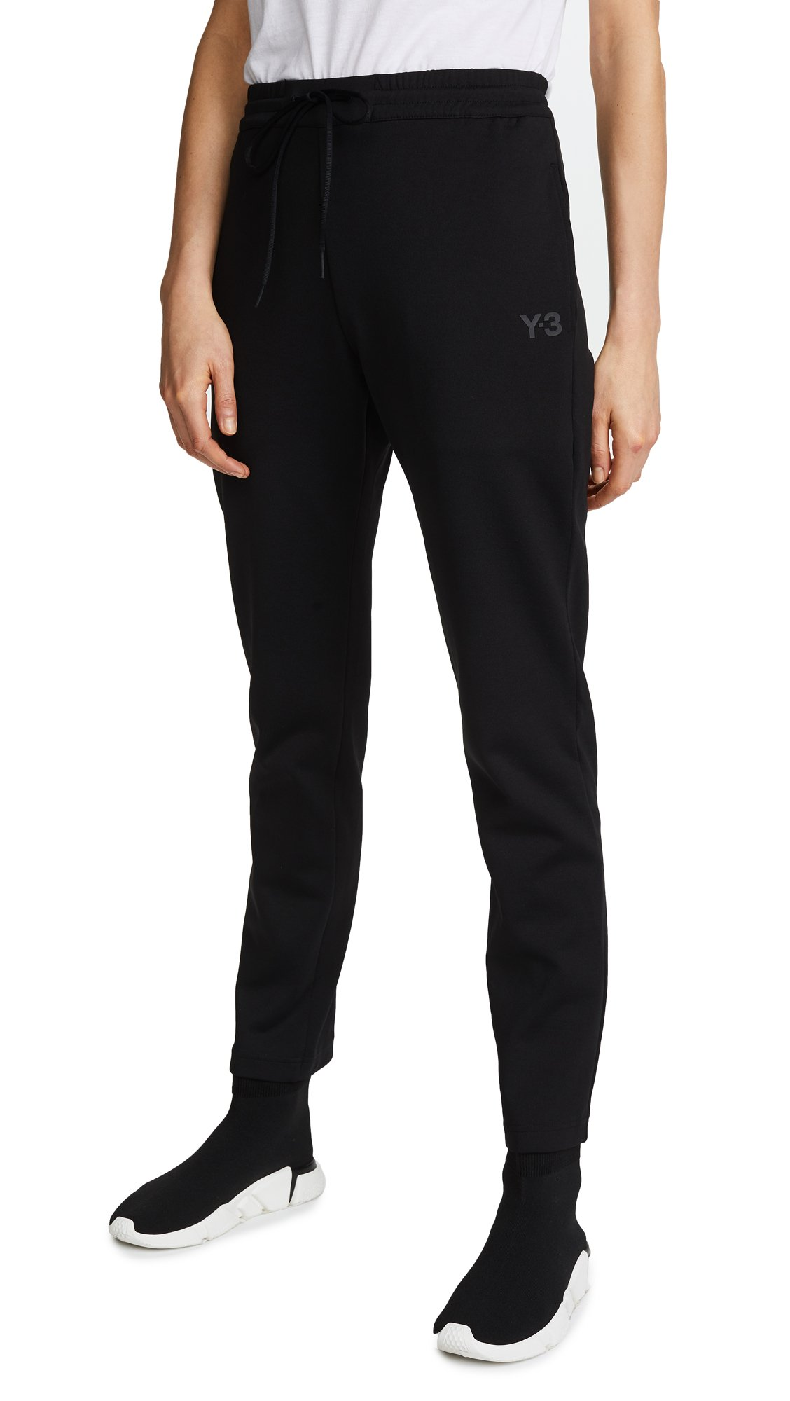 Y-3 Women's Matte Track Pants, Black, Large by adidas