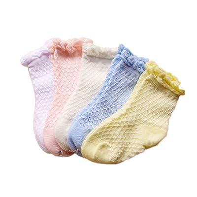 5 Pairs Baby Boys Girls Anklet Socks