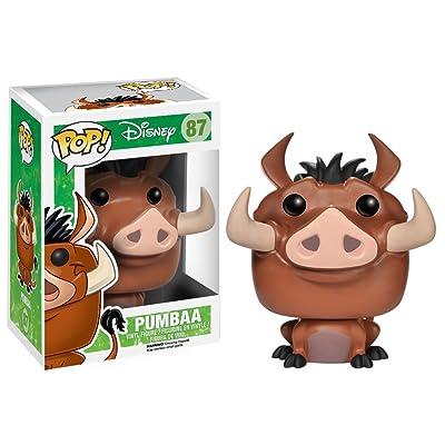 Funko POP! Disney: The Lion King Pumbaa Action Figure: Funko Pop! Disney: Toys & Games