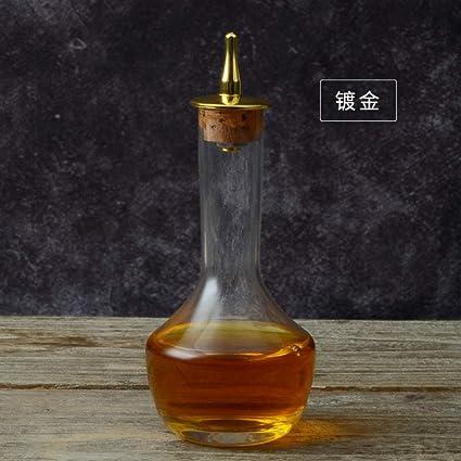 HongPei Botella de Botella de Licor de Botella de Vino de Estilo japonés absenta Botella de