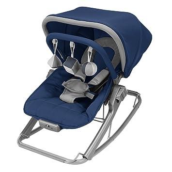 Amazon.com: Maclaren Rocker Medieval, azul/Pingüino: Baby