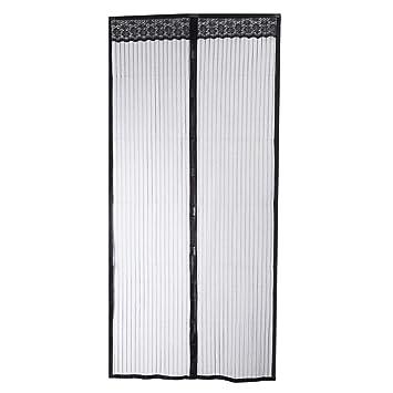 100 X 210 Cm De Porte Magnétique Anti Moustique écran Aimant En