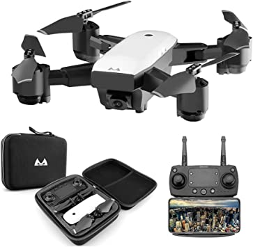 Opinión sobre Goolsky SMRC S20 RC Drone 1080 P WiFi FPV Granangular Cámara Altitud Mantenga pulsado One Key Return Quadcopter para Principiantes en Entrenamiento