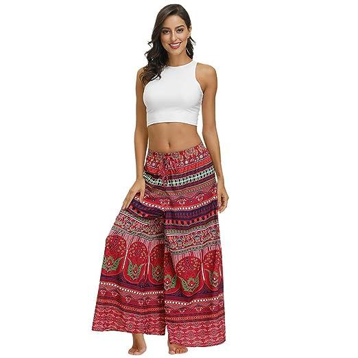 TianranRT Pantalones de Yoga,Hombres Y Mujeres Bohemian ...