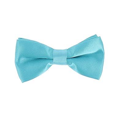 999c1c2c0da7 Boys Turquoise Blue Bow Tie: Amazon.co.uk: Clothing