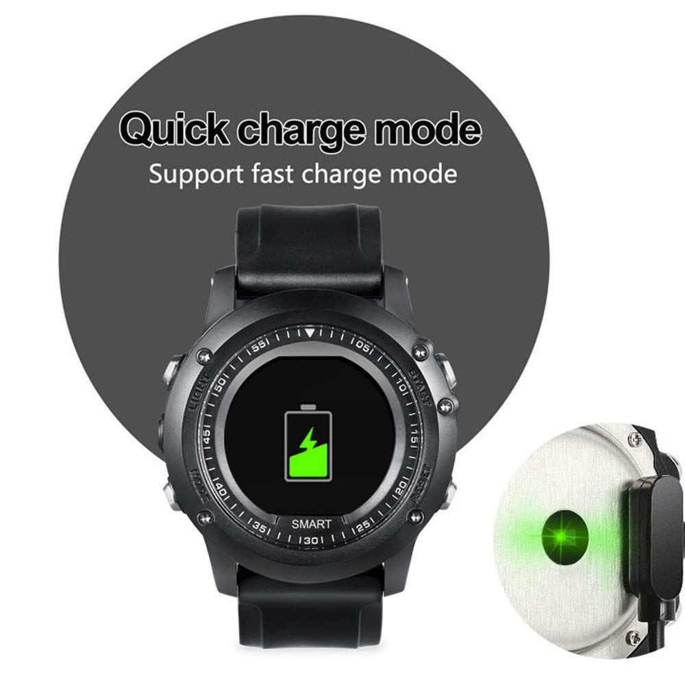 Amazon.com: Star_wuvi Smartwatch Color Screen SMS Remind ...