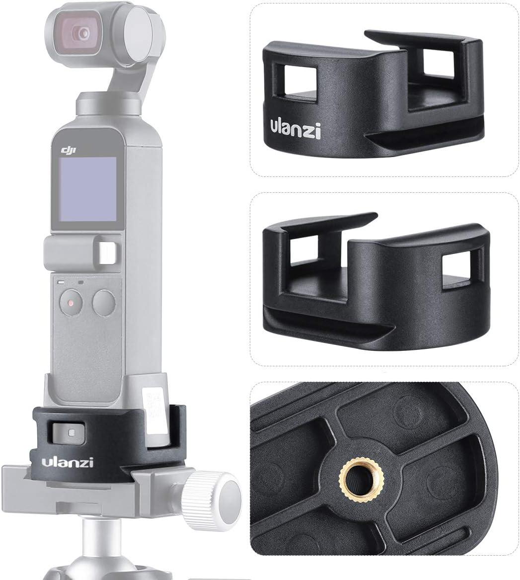 "OP-4 Tripod Adapter Base Compatible with DJI OSMO Pocket Gimbal WiFi Module Base Accessory Bottom 1/4"" Screw Adapter"