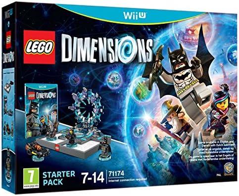 Warner Bros Lego Dimensions - Starter Pack, Wii U - Juego (Wii U, Wii U, Soporte físico, Acción / Aventura, Travellers Tales, 27/09/2015, RP (Clasificación pendiente)): Amazon.es: Videojuegos