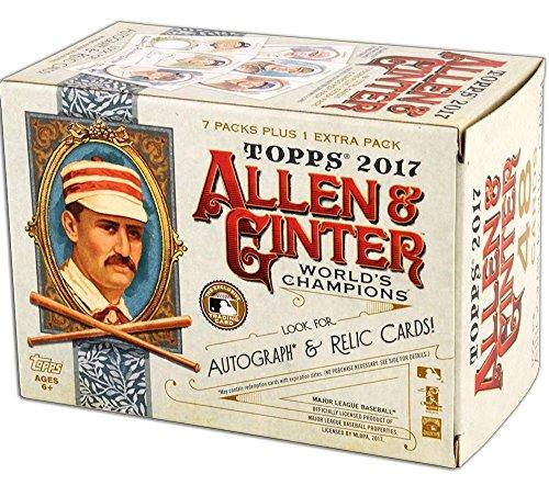 2017 Topps Allen & Ginter MLB Baseball BLASTER box (8 pk) (Allen Cards Ginter And)