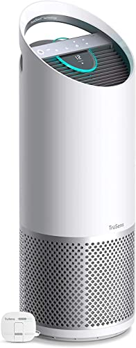 TruSens Air Purifier 360 HEPA Filtration with Dupont Filter UV Light Sterilization Kills Bacteria Germs Odor Allergens in Home Dual Airflow for Full Coverage Large