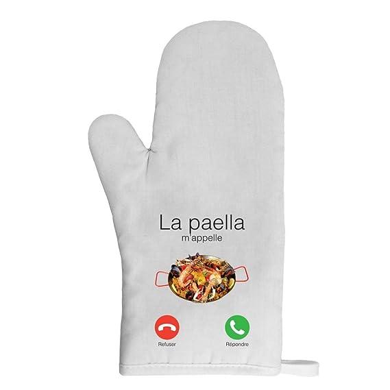 Mygoodprice Gant de cuisine manique paella mappelle: Amazon.es ...
